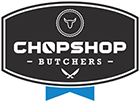 Chopshop Butchers Brisbane Sticky Logo