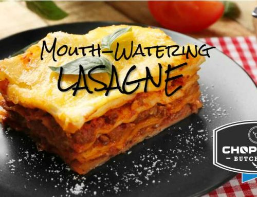 Mouth-watering Lasagne